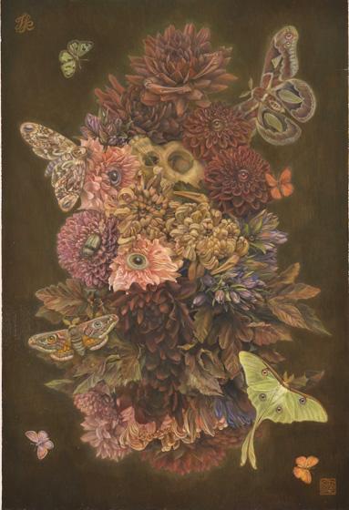 亀井徹個展 「Series:All the Flowers and Insects」
