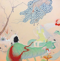 川野美華 「夜行性の庭」