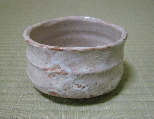 瀧川恵美子作  紅志野茶碗
