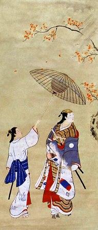 日本民族美術の力 3 肉筆浮世絵展 『傘の下で・・・』